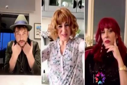 Jet Sosyete dizisinden koronavirüs tedbirli özel bölüm: Oyuncular evlerinden çekim yaptı