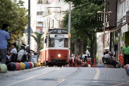 Kadıköy - Moda tramvayı yolcu taşıma kapasitesi arttı