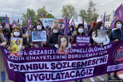Kadınlar, kadın cinayetlerini önlemek için sokağa çıktı