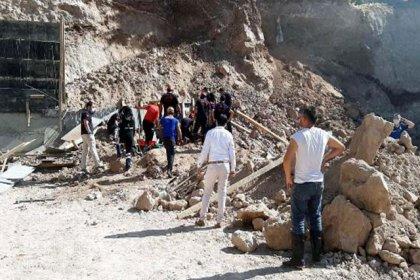 Kahramanmaraş'ta inşaatta göçük: 2 işçi hayatını kaybetti