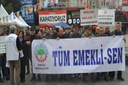 Kapatılma kararı sonrası Tüm Emekli-Sen üyeleri İzmir'de toplanıyor