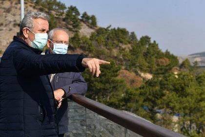 Kemal Kılıçdaroğlu ve Mansur Yavaş Çubuk Barajı'nda