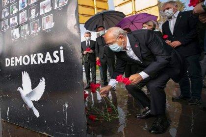 Kılıçdaroğlu 10 Ekim katliamında yaşamını yitiren yurttaşları andı