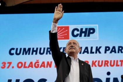 Kılıçdaroğlu 6. kez 1251 rekor oy ile CHP Genel Başkanı seçildi