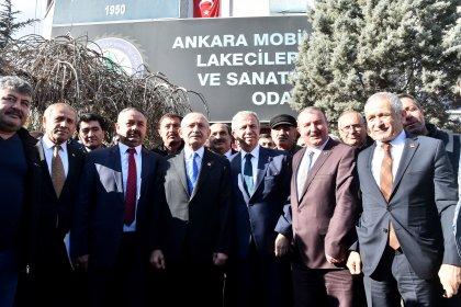 Kılıçdaroğlu, Ankara Siteler'e esnafını ziyafet etti