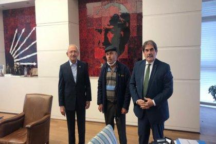Kılıçdaroğlu, cenazesinde linç girişimine uğradığı şehidin babasını ağırladı