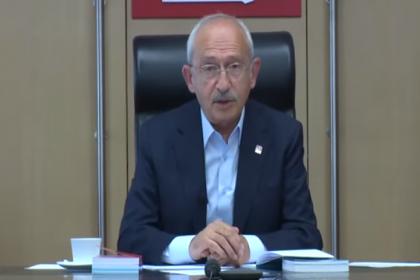 Kılıçdaroğlu çevre örgütleri temsilcileri ile görüştü