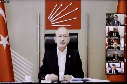 Kılıçdaroğlu CHP'li başkanlarla pandemiyi konuştu