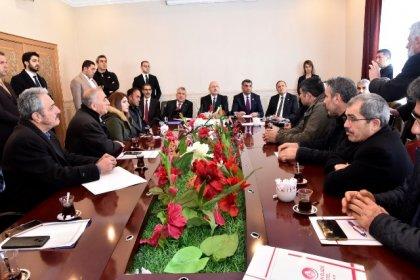 Kılıçdaroğlu Elazığ'da incelemelerde bulundu