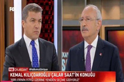 CHP Lideri Kemal Kılıçdaroğlu, FOX TV'de İsmail Küçükkaya'ya canlı yayın konuğu olacak