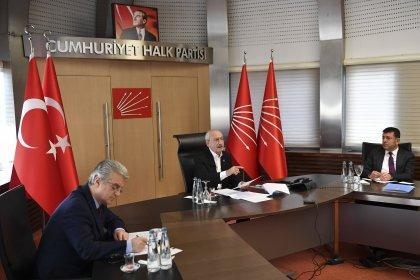 Kılıçdaroğlu, memur sendikalarının genel başkanları ile görüştü