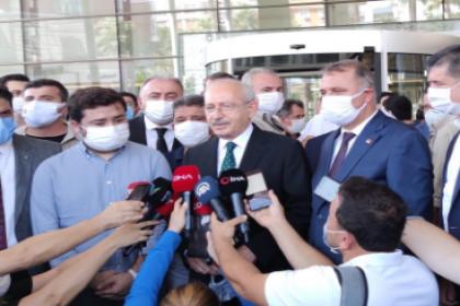Kılıçdaroğlu Muhittin Böcek'i ziyaret etti