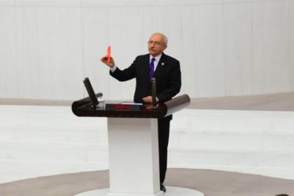 Kılıçdaroğlu, yerel mahkemenin 'Berberoğlu' kararının ardından Meclis Genel Kurulu'nda konuştu