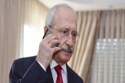 Kılıçdaroğlu'ndan, Beşiktaş Başkanı Ahmet Nur Çebi'ye geçmiş olsun telefonu