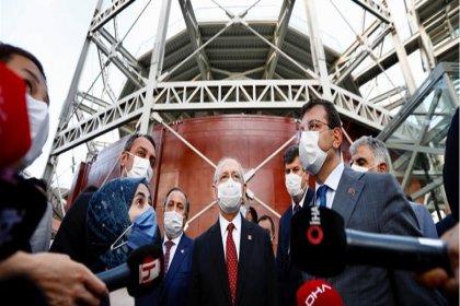 """Kılıçdaroğlu'ndan İmamoğlu'na """"gazhane"""" esprisi: Buraya gökdelen yaptırmayacaksın değil mi?"""