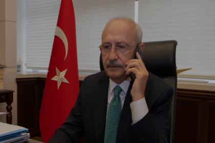 Kılıçdaroğlu'ndan katledilen Zeynep Şenpınar ve Gülnur Kocabaş'ın ailelerine taziye telefonu