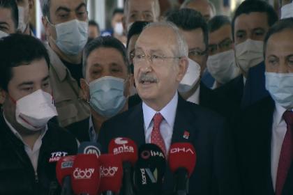 Kılıçdaroğlu'ndan 'Muhittin Böcek' açıklaması: Başkanın morali gayet iyi