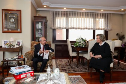Kılıçdaroğlu'ndan Seval Türkeş'e ziyaret