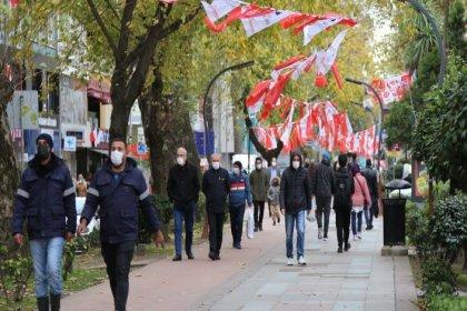 Kocaeli'de koronaviürs tedbirlerine uymayan 279 kişi ve 21 iş yerine para cezası