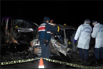 Konya'da feci kaza! 4 ölü, 4 yaralı