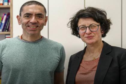 Koronavirüs aşısının ardında iki Türk bilim insanı var
