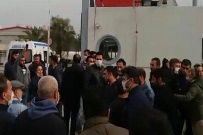 Koronavirüs nedeniyle iş durduran işçilere saldırı