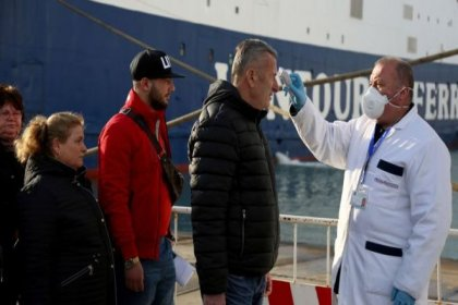 Koronavirüs Yunanistan'a da sıçradı