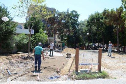 Kuşadası Belediyesi 'Daha yeşil bir çevre' için çalışmalarına devam ediyor