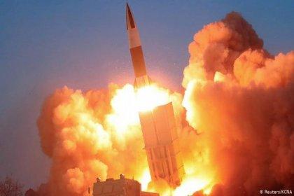 Kuzey Kore yeni füze denemesi yaptı