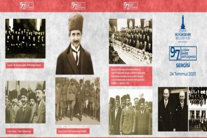 Lozan Antlaşması'nın 97. yılı İzmir'de etkinliklerle kutlanacak