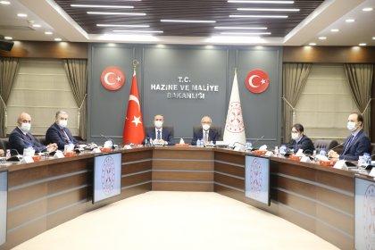 Lütfi Elvan ve Abdulhamit Gül'den MÜSİAD'a ziyaret