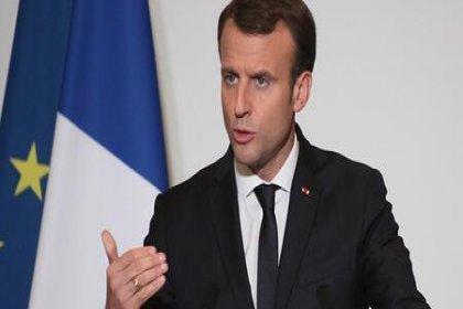 Macron: Lübnan'ın iç işlerine karışmazsak başkaları karışacak