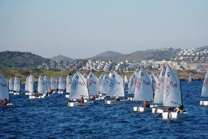 Mandalina Kupası için Bodrum'da yelken açtılar