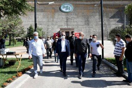 Mansur Yavaş'tan Cumhuriyet döneminin ilk barajı Çubuk 1 için özel açılış