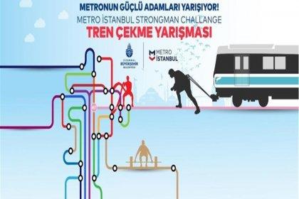 Mecidiyeköy - Mahmutbey Metro Hattı'nın açılışında 'tren çekme yarışması' düzenlenecek