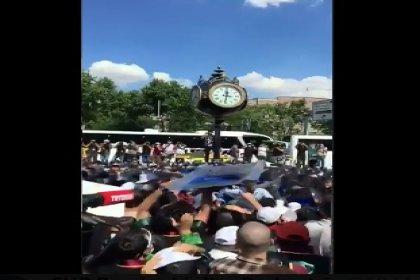 Meclis'e yürümek isteyen avukatlara polis müdahalesi