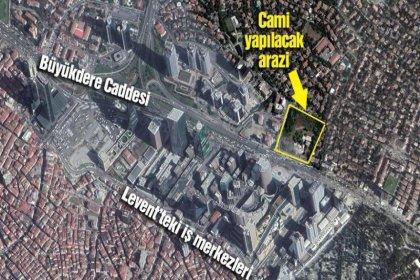 Merkez Bankası'nın Levent'teki milyarlık arsasında cami inşaatı başladı
