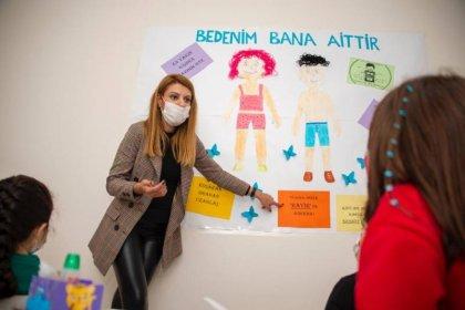 Mersin Büyükşehir Belediyesi'nden çocuklara 'mahremiyet' ve 'kişisel savunma' eğitimi