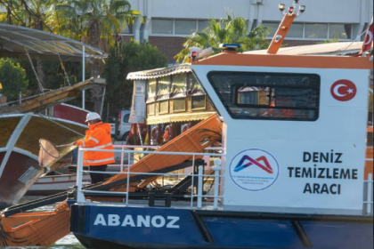 Mersin'de denizi kirleten 25 gemiye 42 milyon 972 bin lira ceza yazıldı