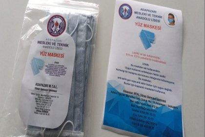 Meslek liselerinde üretilen temizlik malzemeleri ile cerrahi maskeler yaşlılara ücretsiz dağıtılacak