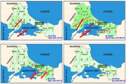 Meteoroloji bugün İstanbul için kuvvetli yağış uyarısı yaptı
