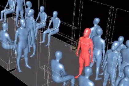 Metroda koronavirüs deneyi: 7 metrelik alanda herkese bulaşıyor