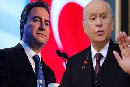 MHP'den Bahçeli'nin 'DEVA Partisi FETÖ projesidir' sözlerine 'deli saçması' diyen Babacan'a yanıt: FETÖ'nün yedek akçesi