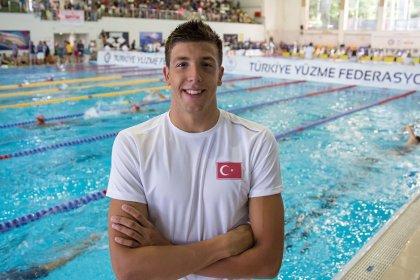 Milli yüzücü Emre Sakçı Uluslararası Yüzme Ligi'nde birinci oldu