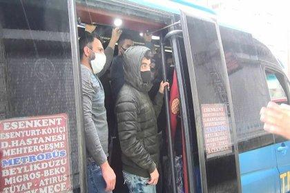 Minibüsten 7 yerine 35 yolcu çıktı: 'Koskoca araç sadece 7 kişi ile mi sefere çıksın?'