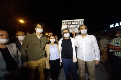 MİT mensubunun cenaze törenini haberleştirilen tutuklu gazeteciler Barış Pehlivan, Hülya Kılınç ve Murat Ağırel tahliye oldu