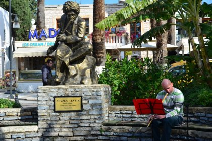 Neyzen Tevfik memleketi Bordum'da anıldı