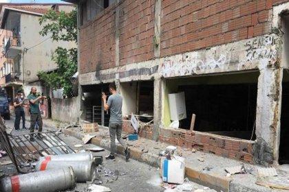 Okmeydanı'nda iş yerinde patlama: 6 yaralı
