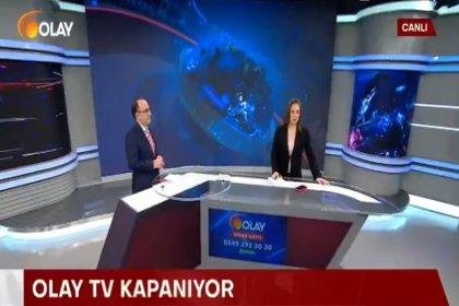 Olay TV 26 gün sonra akşam bülteninde yayın hayatını çalışanlarının alkışlarıyla sonlandırdı