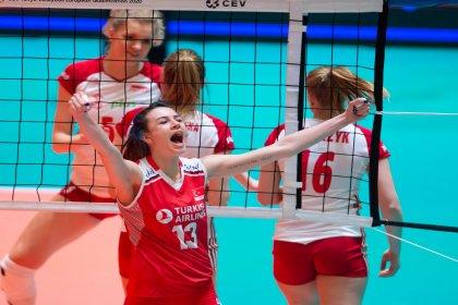 Olimpiyat Elemelerinin en değerli oyuncusu Meryem Boz